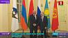 В Санкт-Петербурге А. Лукашенко и В. Путин обсуждают двустороннее сотрудничество