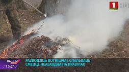 Бесконтрольные костры - главная причина возникновения пожаров Бескaнтрольные вогнішчы - галоўная прычына ўзнікнення пажараў
