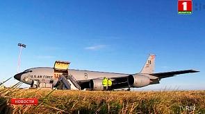 ВВС США перебросили в Европу  шесть стратегических бомбардировщиков B-52 ВПС ЗША перакінулі ў Еўропу  шэсць стратэгічных бамбардзіроўшчыкаў B-52