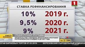Правительство утвердило среднесрочную финансовую программу республиканского бюджета до 21-ого года