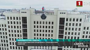 Палата представителей определилась с председателями комиссий