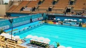 Синхронное плавание и прыжки в воду