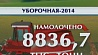 Намолот по стране 8 миллионов 837 тысяч тонн зерна Намалот па краіне 8 мільёнаў 837 тысяч тон збожжа 8,837,000 tons of grain harvested in Belarus