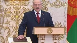 Телеверсия церемонии инаугурации Президента Республики Беларусь Александра Лукашенко