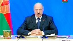 Пресс-конференция Президента Республики Беларусь Александра Лукашенко для представителей белорусских и зарубежных СМИ.