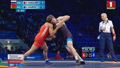 Встреча за бронзу. Сослан Дауров поборется за медаль
