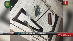 Гражданин Литвы пытался провезти через нашу страну в Европу запчасти к оружию