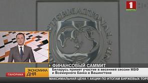 Беларусь примет участие в весенней сессии МВФ и Всемирного банка в Вашингтоне
