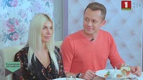 Руслан Лобанок - директор визового центра Испании в Беларуси с супругой Эстер Лопес