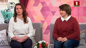 Члены РОО «Рано» Ольга Скорбенко и Елена Прищиц рассказывают о благотворительной акции «Мамина весна»