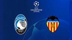 """Футбол. Лига чемпионов УЕФА. 1/8 финала. """"Аталанта""""  - """"Валенсия"""" 4:1"""
