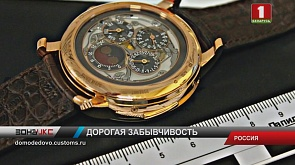 Часы за 240 тысяч долларов конфисковали у белоруски в аэропорту Домодедово
