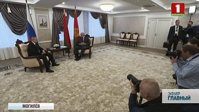 Встреча Александра Лукашенко и Владимира Путина стала девятой с начала года