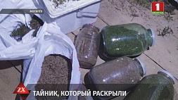 Более двух килограммов марихуаны изъяли оперативники у жителя Могилева