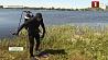 Забота водолазов весной - убрать мусор со дна водоемов Клопат вадалазаў увесну - прыбраць смецце з дна вадаёмаў
