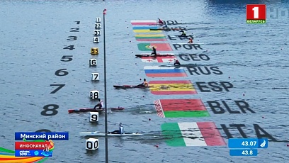 Belarusian rowers show brilliant performance at 2nd  European Games