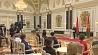 Ордена с медалями вручали женщинам на неделе во Дворце Независимости Ордэны з медалямі ўручалі жанчынам на тыдні ў Палацы Незалежнасці President Alexander Lukashenko presents state awards to outstanding women
