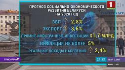 Прогнозы социально-экономического развития Беларуси на 2020 год Аляксандр Лукашэнка падпісаў указ аб карэкціроўцы асобных палажэнняў  падатковага заканадаўства  Alexander Lukashenko signs decree on adjustment of certain provisions in tax legislation