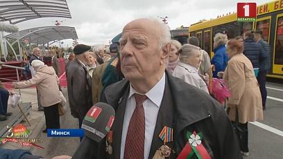 Ветераны делятся впечатлениями о параде в Минске
