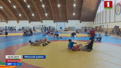 First medals in wrestling to be played at Palace of Sports today