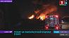 Масштабный пожар на лакокрасочном заводе в Баку