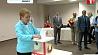 Сегодня Лидия Ермошина проголосовала на 511-м участке в Минске Сёння Лідзія Ярмошына прагаласавала на 511-м участку ў Мінску Lidiya Yarmoshyna votes on 511th polling station in Minsk today