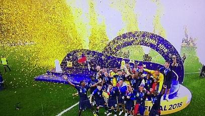 Чемпионат мира по футболу. Финал. Франция - Хорватия 4:2