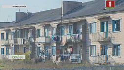 Жители деревни Сергеевичи живут в полуразрушенном здании