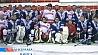Команда Президента по хоккею провела второй товарищеский матч Каманда Прэзідэнта па хакеі правяла другі таварыскі матч Team of Belarusian President plays second amateur hockey game