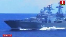 Американский крейсер  подрезал российский боевой корабль в Восточно-Китайском море Амерыканскі крэйсер  падрэзаў расійскі баявы карабель ва Усходне-Кітайскім моры