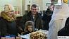 Первых туристов  по безвизовому режиму  сегодня встречали на железнодорожном вокзале в Бресте  First tourists under non-visa regime welcomed  in Brest