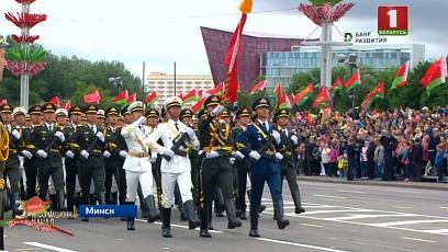 Самые яркие кадры праздничного парада