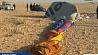В Луксоре упал воздушный шар с туристами У Луксары ўпаў паветраны шар з турыстамі