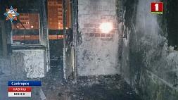 В Солигорске во время пожара эвакуировали 15 человек У Салігорску падчас пажару эвакуіравалі 15