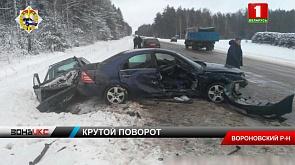 Семья с 6-летним ребенком попала в серьезное ДТП в Вороновском районе