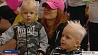 В столице  прошел фестиваль  двойняшек и тройняшек У сталіцы  прайшоў фэст  двайнятак і трайнятак Fеstival of twins to be held in Minsk