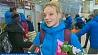 Белорусские фристайлисты после этапов Кубка мира заглянули домой Беларускія фрыстайлісты пасля этапаў Кубка свету зазірнулі дадому Belarusian freestyle skiers rest home after World Cup stages