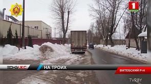 В Витебском районе мужчины по ночам сливали топливо из большегрузов и хозяйничали в кабинах фур