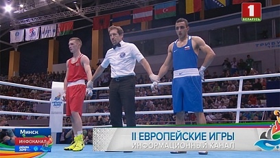 Боксер Дмитрий Асанов завоевал золото II Европейских игр