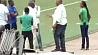 В Конго обрушилась стена футбольного стадиона У Конга абрушылася сцяна футбольнага стадыёна