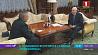 Президент Беларуси встретился с главой Роскосмоса Прэзідэнт Беларусі сустрэўся з кіраўніком Раскосмаса Alexander Lukashenko meets with Head of Roskosmos