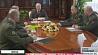 Встреча Президента с Советом безопасности Сустрэча Прэзідэнта з Саветам бяспекі
