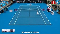 Арина Соболенко  в первом раунде Открытого чемпионата Австралии  переиграла Анну Калинскую Арына Сабаленка ў першым раўндзе Адкрытага чэмпіянату Аўстраліі  перамагла Ганну Калінскую  Aryna Sabalenka beats Anna KalInskaya in  first round of Australian Open