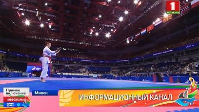 Соревнования каратистов. 12 надежд Беларуси