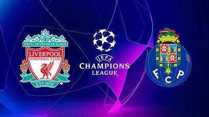 """Футбол. Лига чемпионов. 1/4 финала. """"Ливерпуль"""" - """"Порту"""" 2:0"""