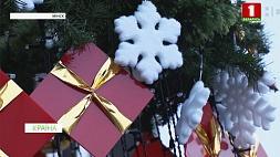 Минск готовится надеть праздничный наряд Мінск рыхтуецца апрануць святочны ўбор