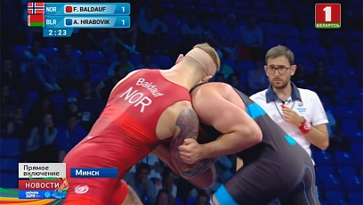 3 Belarusian wrestlers in semi-final