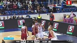Белорусские баскетболистки проиграли в первом из двух контрольных матчей с командой Италии