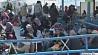 Массовый побег мигрантов из лагеря содержания в Греции Масавыя ўцёкі мігрантаў з лагера ўтрымання ў Грэцы