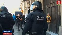 Не менее 50 человек пострадали в результате беспорядков в Каталонии  Не менш як 50 чалавек пацярпелі ў Каталоніі ў выніку беспарадкаў